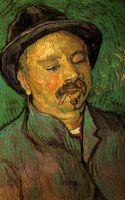 Портрет мужчины с одним глазом