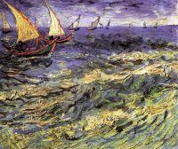Морской вид в Сен-Мари