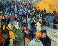 Зрители на арене в Арле