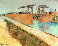 Мост Ланглуа в Арле и дорога вдоль Канала