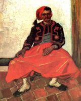 Сидящий Зуав
