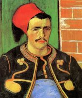 Зуав (Поясной портрет)