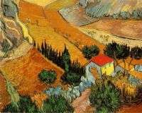 Долина с крестьянином с высоты