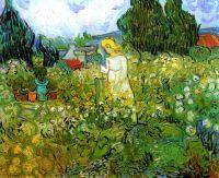 Маргарита Гаше в саду