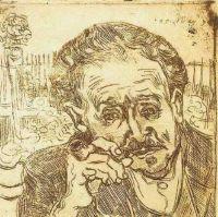Портрет доктора Гаше с трубкой