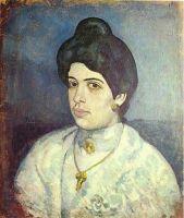 Портрет Корины Ромю.