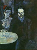 С. Януар-Видаль с женщиной рядом с ним.