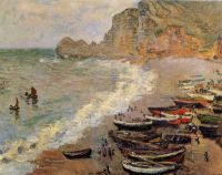 Пляж в Этрета