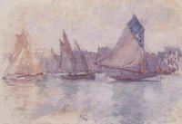 Лодки в порту Гавр