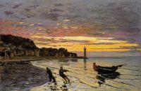 Тягач на берегу, Онфлер
