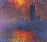 Дом Парламента,солнце в тумане