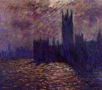 Дом Парламента, Лондон, симфония в розовом