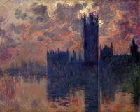 Дом Парламента, грозовое небо