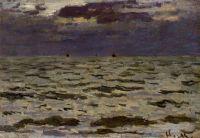 Морской пейзаж, ночь