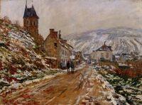 Дорога в Ветей зима