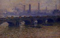 Мост Ватерлоо, туман