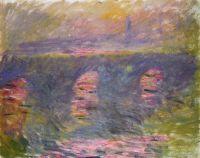 Мост Ватерлоо, солнце в тумане