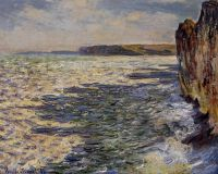 Волны и скалы в Пурвий