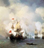 Бой в Хиосском проливе 24 июня 1770 года