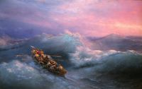 Кораблекрушение у берегов Гурзуфа
