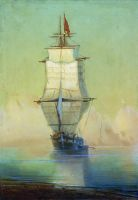Корабль у берега