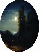 Лунная ночь. Всадник