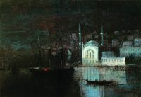 Ночной Константинополь