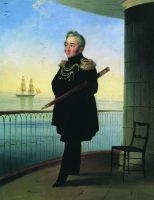 Портрет вице-адмирала М.П. Лазарева