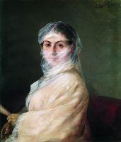 Портрет жены художника Анны Бурназян