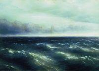 Черное море (На Черном море начинает разыгрываться буря)