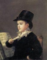 Портрет Мариано Гойя, Внук