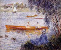 Катание на лодке в Аржантей