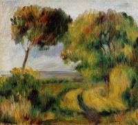 Бретонский пейзаж  - Деревья и торфяник