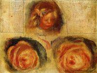 Коко и розы  - эскиз