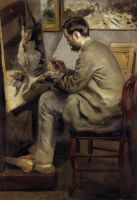 Фредерик Базиль рисующий