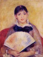 Девушка с веером (также известная как Альфонсина Фурнез)