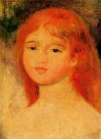 Девочка с каштановыми волосами
