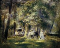 В парке Сен-Клу