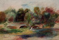 Пейзаж с мостом