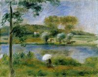 Пейзаж, берега реки
