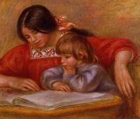 Леонтина за чтением