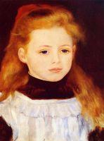 Маленькая девочка в белом переднике (также известная как Портрет Люси Берар)