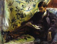 Портрет Эдмона Мэтр (также известная как За чтением)