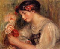 Портрет Габриэль (также известная как Юная девушка с цветами)