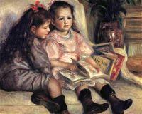 Портреты двух детей