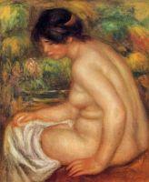 Сидящая обнаженная в профиль (также известная как Габриэль)