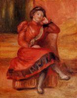 Испанская танцовщица в красном платье