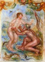 Эскиз - Рона, обнимающий Сону