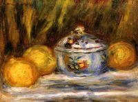 Сахарница и лимоны