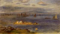 Побережье Бретани, рыбацкие лодки